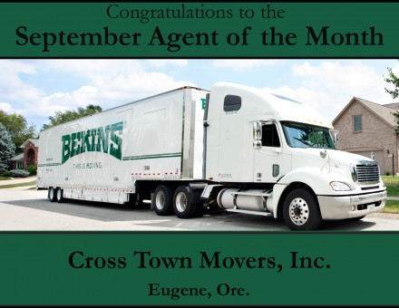 Cross Town Movers - September