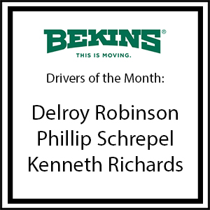 May 2017 Drivers of the Month