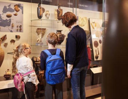 Kids at museum