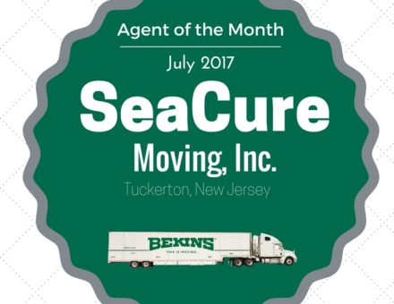 SeaCure Moving, Inc. Agent of the Month