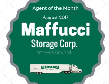 Maffucci Storage Corp. Agent of the Month